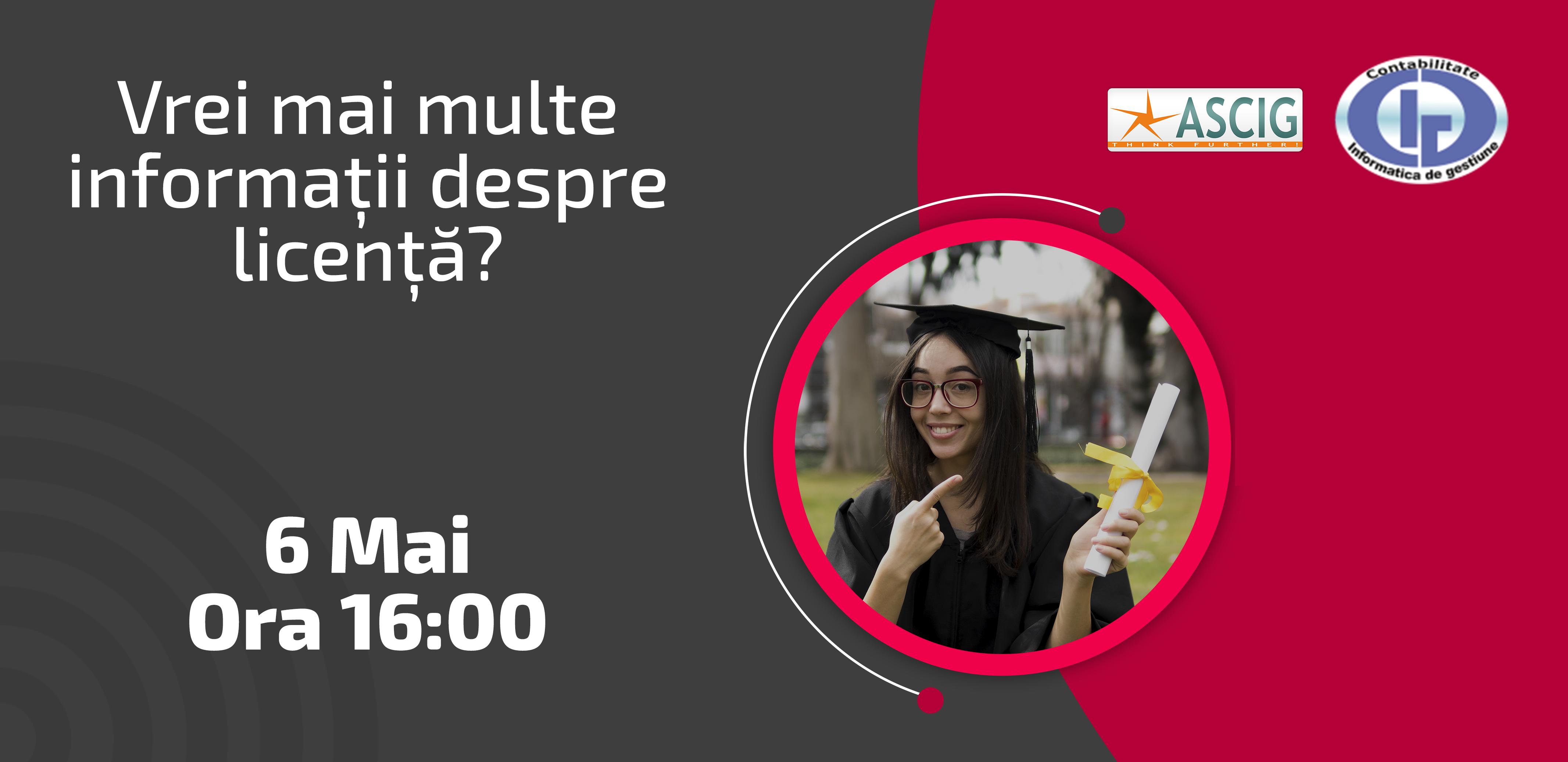 HOW TO LICENȚĂ                                      – Idei pentru studenții din anul 2